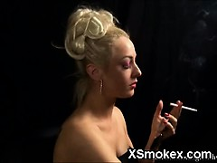 Soothing Smoking Girl Blowjob Porn