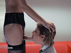 Neverending strap-on girl2girl action