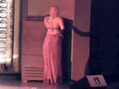 Burlesque Strip SHOW 012 Nina La Voix Nude Jessica