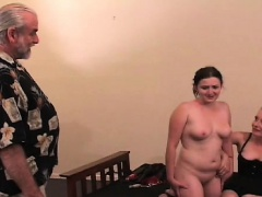 Flaming nude thrashing and bizarre bondage porn