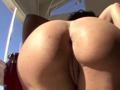 Lisa Ann stars is loving her first interracial sex