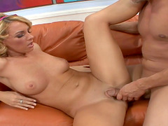 Horny fellow cannot get enoug of Nikki Anne's great body