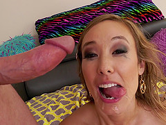Christy Love having her shaved cunt bashed by lusty Mark Wood