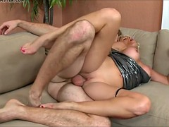 blonde mom with tiny pussy