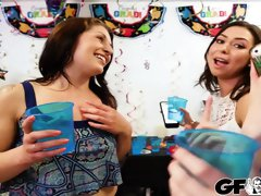 Crashing The Party Girls Ft Melissa Moore,Dolly Leigh,Moka Mora