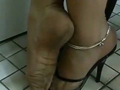 Beautiful Toes Being Teased