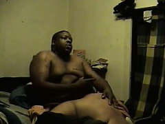 Large Latin Woman And Her Man Having Sex