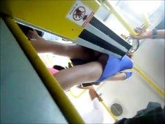 por baixo da vestido azul pacote preto