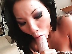 Compilation of cocksucking and facial cumshots