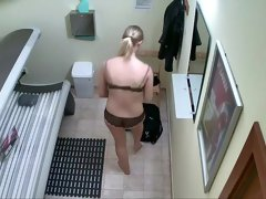 Multiple hidden cams in a tanning salon