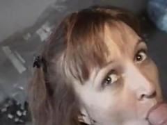 Amateur girlfriend anal gangbang with facial