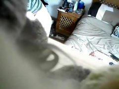 My friend's mom caught masturbating on hidden camera