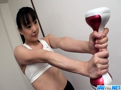 Pussy Vibrations Finishes Miho - More at javhd.net