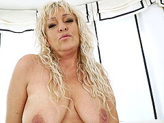 Magdi is a sexy cougar who always wanted to taste the dark dick