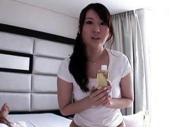 Exotic Japanese girl in Crazy POV, HD JAV scene