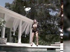 Horny pornstars Bella Maree and Sara Jay in hottest brunette, big tits xxx clip