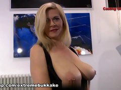 Hottest pornstar in Best Bukkake, German sex scene