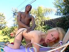 Mature blonde Robin Pachinko knows how to make a boner stiff