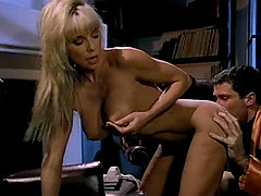 Blonde hotness Yvonne has her butthole usurped big time