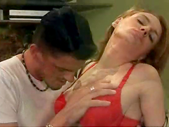 Filthy Redhead Gets Her Ass Drilled by a Huge Cock