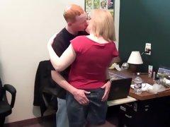 Best pornstar Molly Adams in exotic mature, blonde sex movie