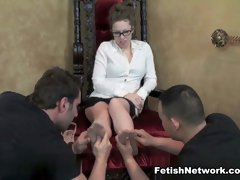 Crazy pornstar in Best Threesomes, Foot Fetish xxx clip