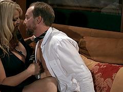 Ryan licking Kelly Madison wet pussy passionately