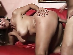 Chubby big breasted whore Persia Monir gets totally into riding dick