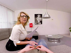 Busty Teacher Katerina Hartlova Seduce And Suck Student