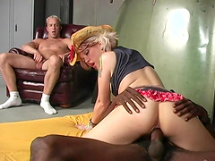 Candy Monroe is a hot chick craving to feel a man's massive black dick