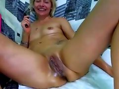 Extreme Double Self Fisting and Anal Stretching