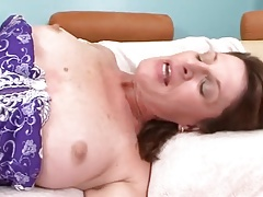 Great mature in lingerie want cock