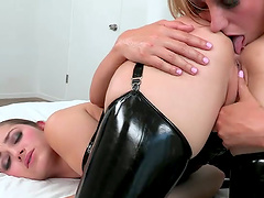 Two Nasty Whores Playing With Toys In Pussy