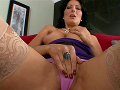 Messy Facial Cumshot for MILF Zoey Halloway in POV Blowjob Clip
