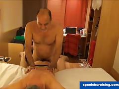 Spanish daddies fucking
