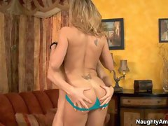 Hot blond cougar Brandi Love loves to get fucked from Michael Vegas