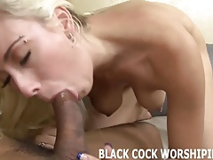 His big black cock is going to punish my pussy