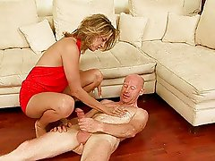 Teen punishing old man