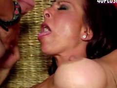 Attractive 40plus milf goes into hardcore porn