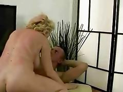 Hot busty grandma gets her tight ass fucked