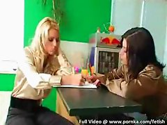 elegant lesbians in silk and satin have erotic lesbian sex on silky bed