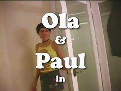 Ola &amp; Paul Creampie Ama Couple